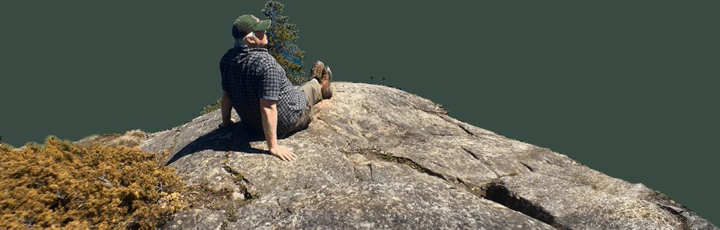 Aldo on Mountain