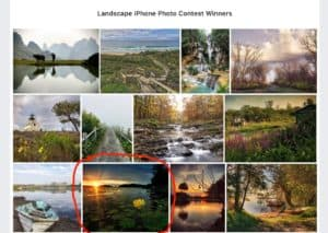 Read more about the article Landscape iPhone Photo Contest Winner