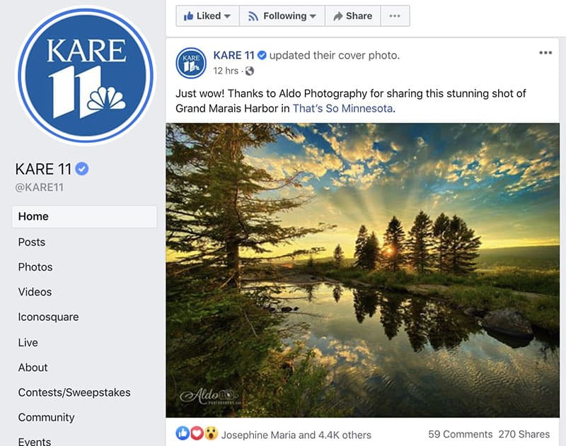 Photo of the Day on KARE 11